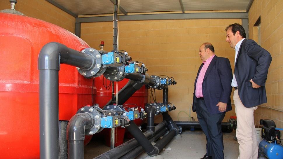 Diputación mejoraelciclo integral del agua de uso urbano en Dúrcal
