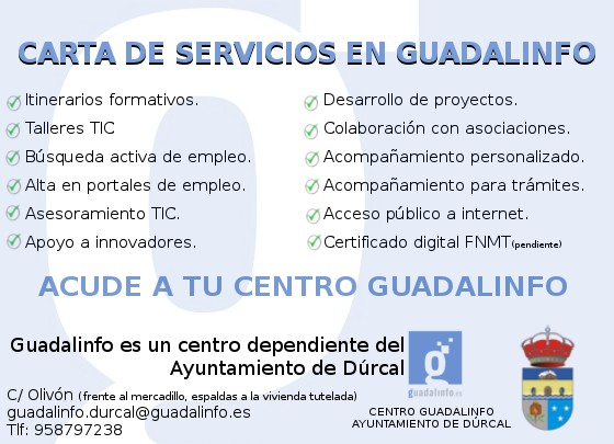 carta servicios